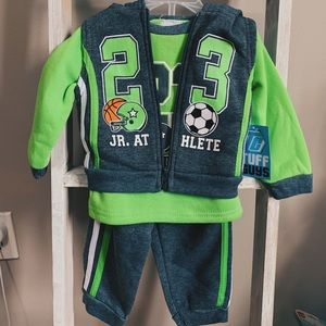 Brand New Tuff Guys 3 Piece Tracksuit - 12 months